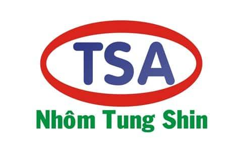 Nhôm Tungshin là hãng nhôm phổ biến tại thị trường Việt Nam