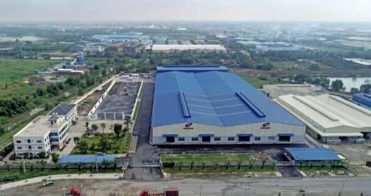 Lịch sử phát triển của nhà máy NamSung