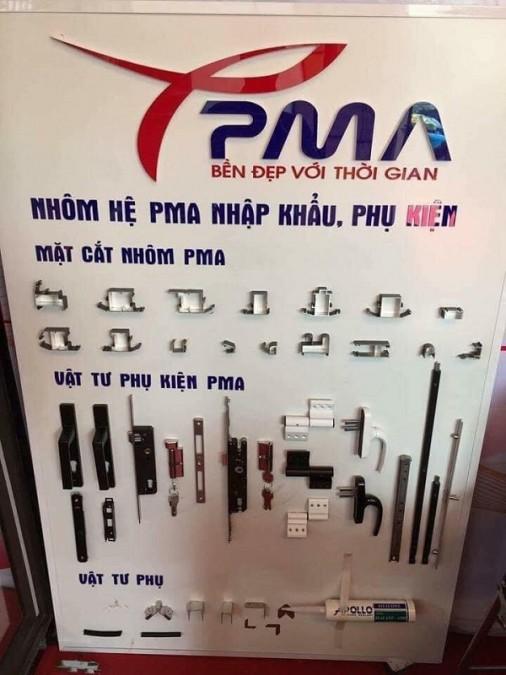 phụ kiện cửa nhôm pma